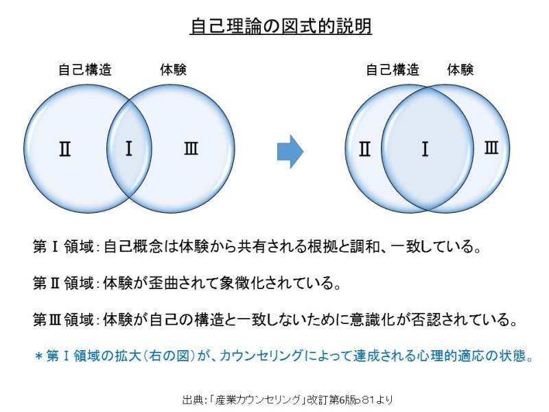 自己理論の図式的説明